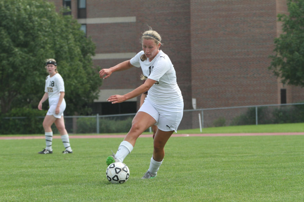 Laura Johnson led the Gusties with a goal and two assists.