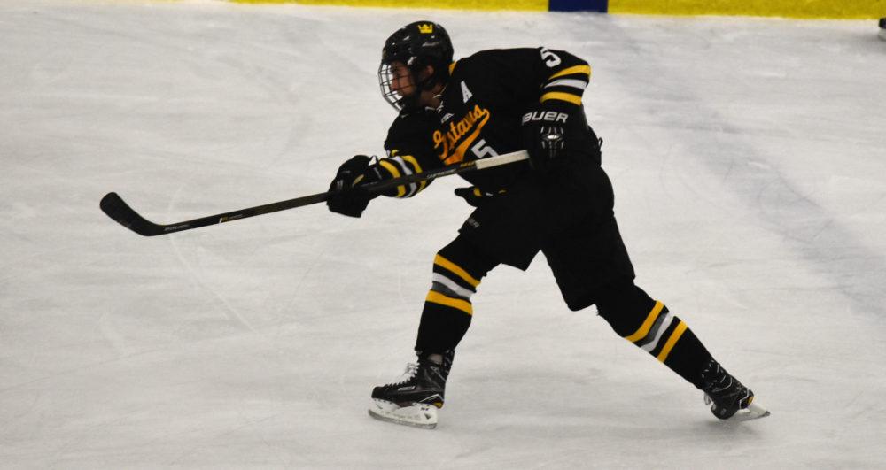 Men S Hockey Splits At Miac Showcase With 4 1 Win Over St