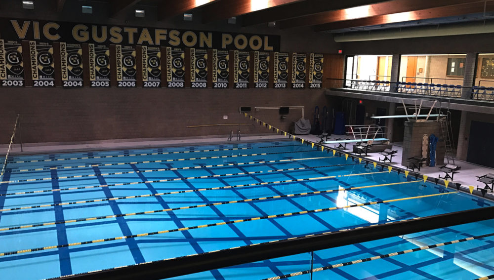 Swimming Diving Hosts Hamline On Senior Night Posted On January 19th 2017 By Trent Jackson
