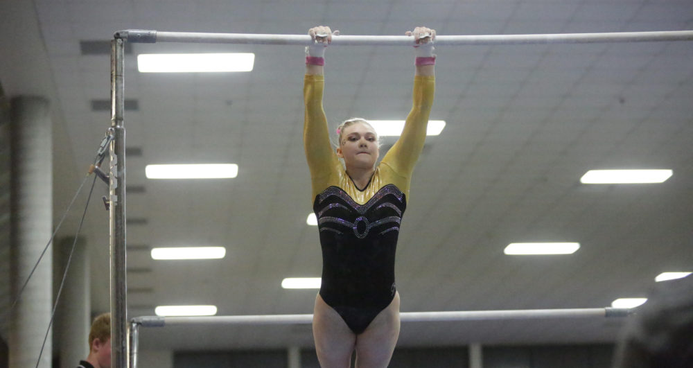 Gymnastics Takes Fourth At Best Of Minnesota Scores 184