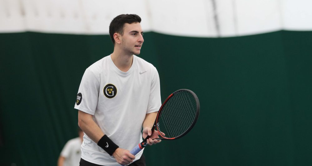 Men S Tennis Wraps Up Weekend With Split Posted On March