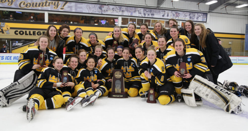 87d3c5e17af Women's Hockey Claims Third Place At NCAA Championship, Defeats ...