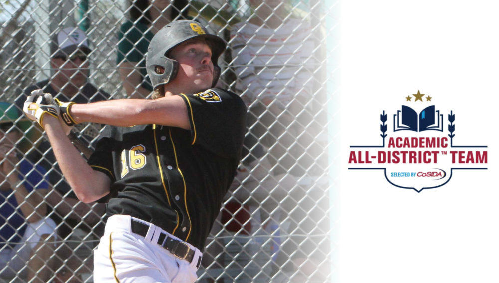 Armstrong Named to CoSIDA Academic All-District III First Team