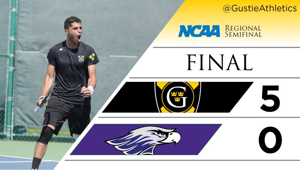 Men's Tennis Downs Rice for Program's First NCAA Win
