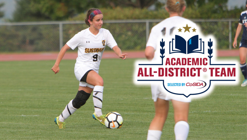 Fiscus and Centala Named to CoSIDA Academic All-District Team