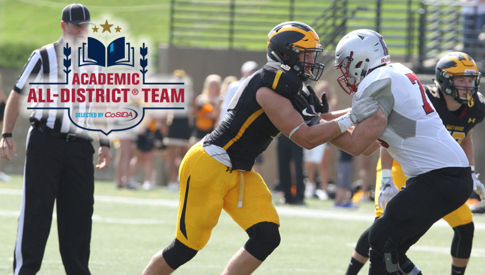 Cole Chewins Named to CoSIDA Academic All-District First Team